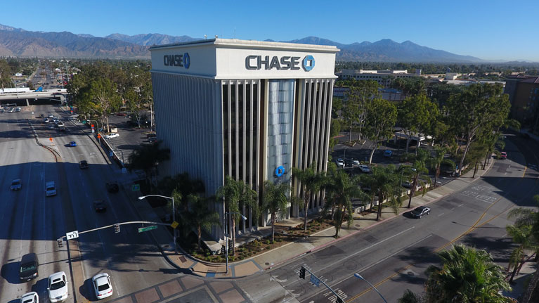 Ricardo Squarez DDS | View of the Chase building